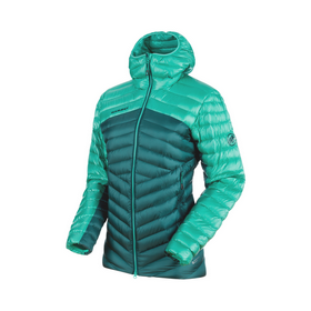 Hooded Down Jacket for Women